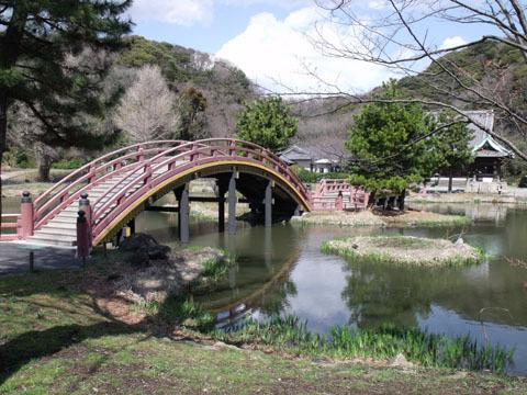 反橋の手前から撮影