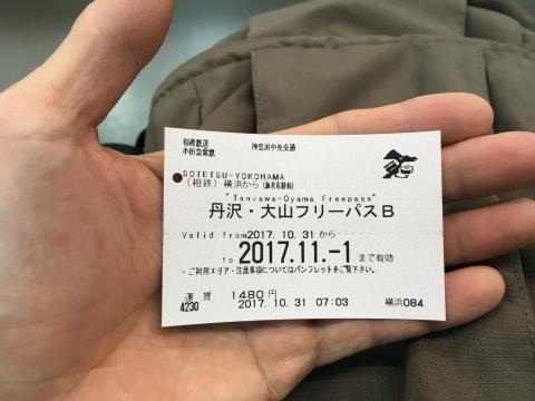 相鉄線横浜駅でフリーきっぷが買えた