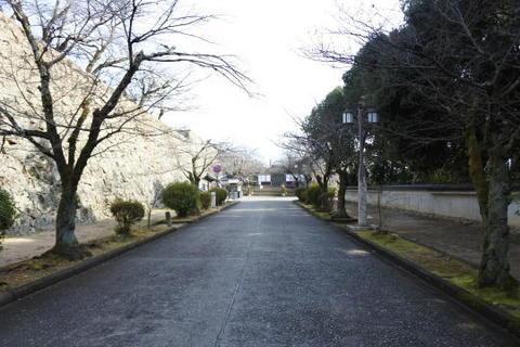 津山城址 入口