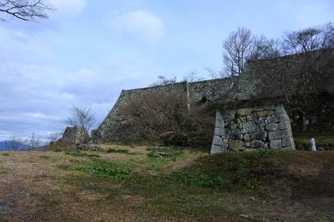 北側の櫓跡