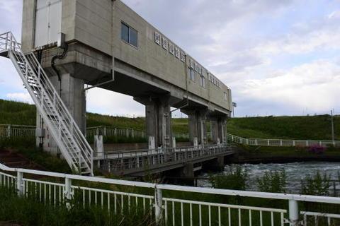 見沼代用水の入口