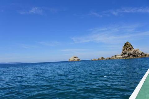 日本海上に出るのは初めて