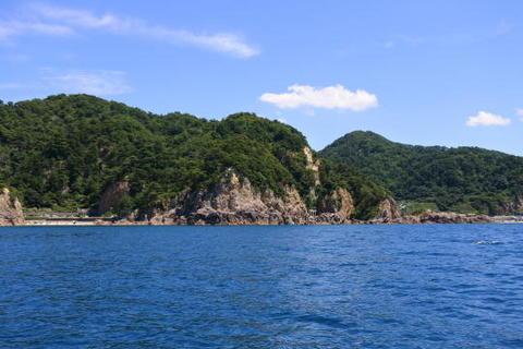 ニタリ岩付近