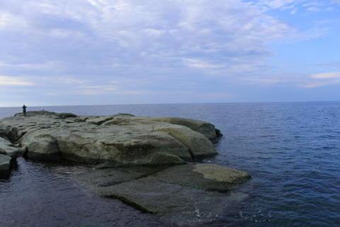 海の間近まで