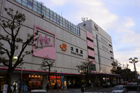 早朝の大垣駅