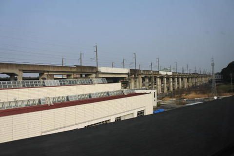 上越・北陸新幹線と分岐