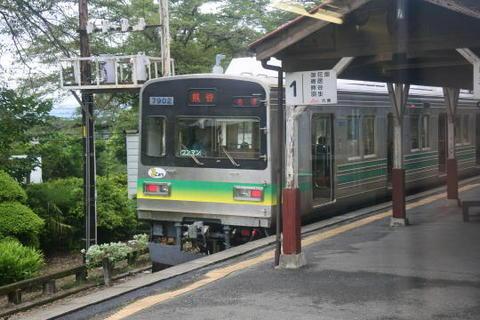 こちらは元東急線の車両
