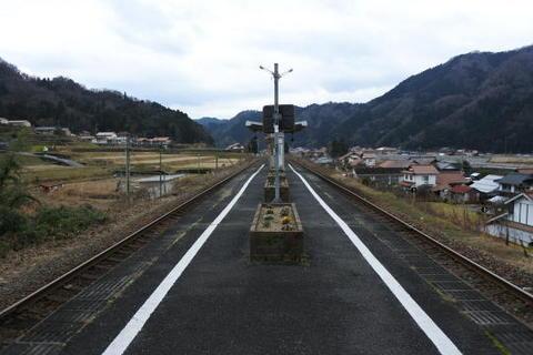 列車交換が可能