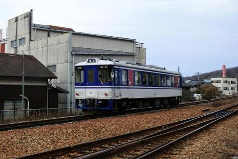 智頭急行線の普通列車