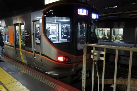 大阪環状線の新車に乗車