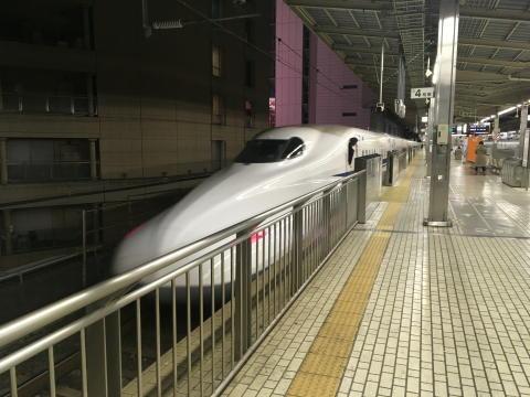 ラストは新幹線