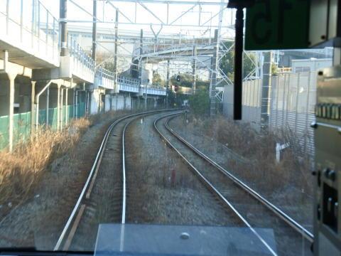 浜川崎から先は複線