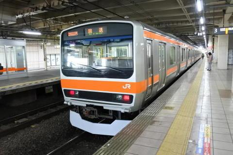 武蔵野線に転属したE231系