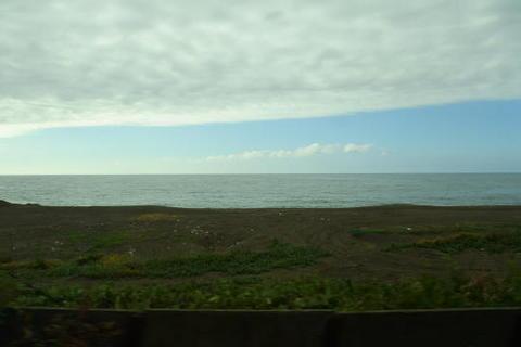 日本海が近くに