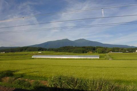 この辺りが最も鳥海山に近い?