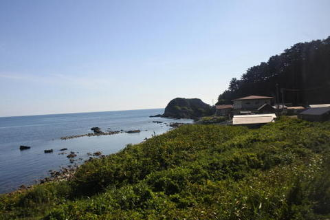 この付近にJR東日本で一番短いトンネルが