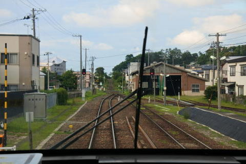 五能線の基幹駅の1つ