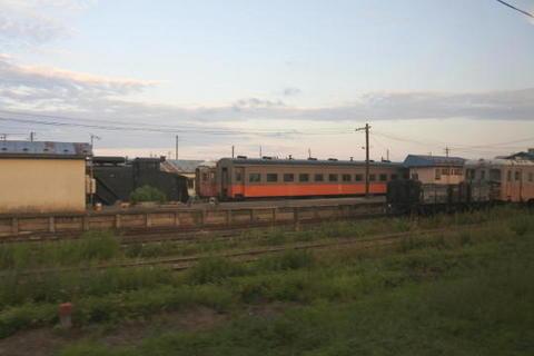津軽鉄道の旧型客車