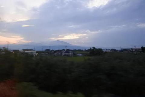 岩木山は雲隠れ