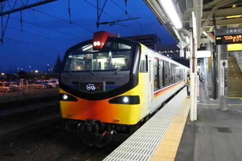 弘前駅に到着