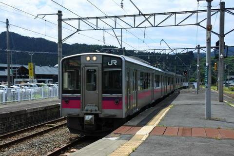 ここから再びJR線