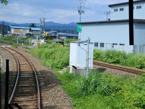 盛岡方面の線路と合流
