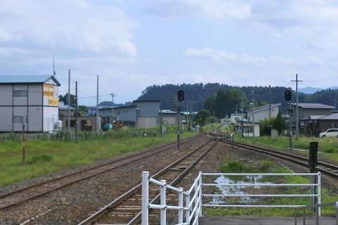 スイッチバック構造の駅