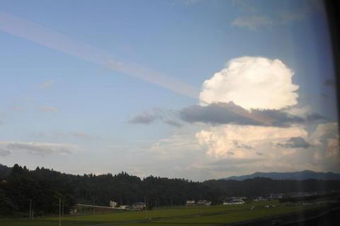 竜の巣」のような巨大な雲