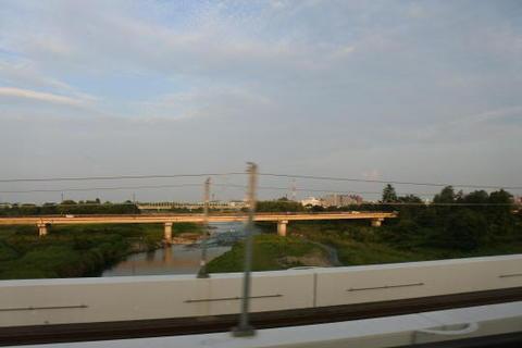 仙台を発車