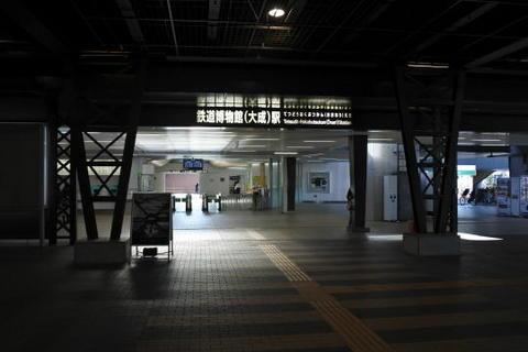 ニューシャトル鉄道博物館駅