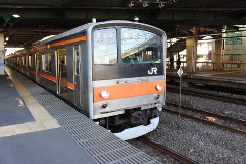 武蔵野線 東京行き