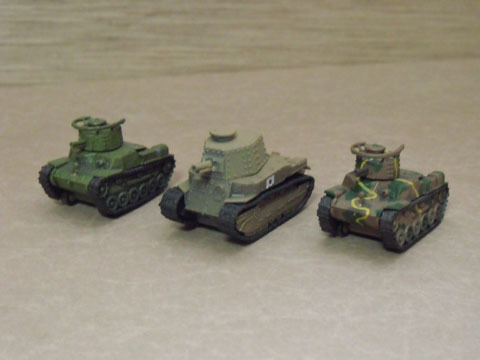 97式&89式中戦車