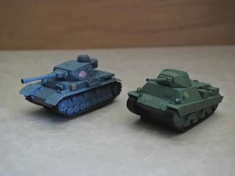 Ⅳ号戦車D型改とP40を入手